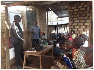 Kuhamasisha wakulima wa ndani kwa ajili ya mazoea endelevu kwa uzalishaji wa maharagwe ya kawaida, Uganda