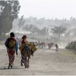Katika Wilaya ya Siraro ya Ethiopia, mifumo ya hali ya hewa kali huongezeka. Tangu 2005, watu wamevumilia ukame tano. Mikopo: Peter Lüthi / Biovision