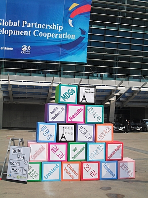 Achieving MDGs through effective aid.  - Miriam Gathigah/IPS