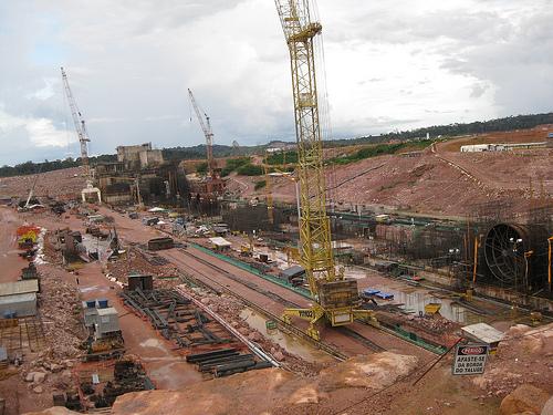 Jirau hydropower plant construction site.  - Mario Osava/IPS