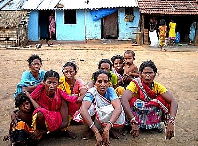 Rayagada's tribal women look after community grain banks. - Manipadma Jena/IPS